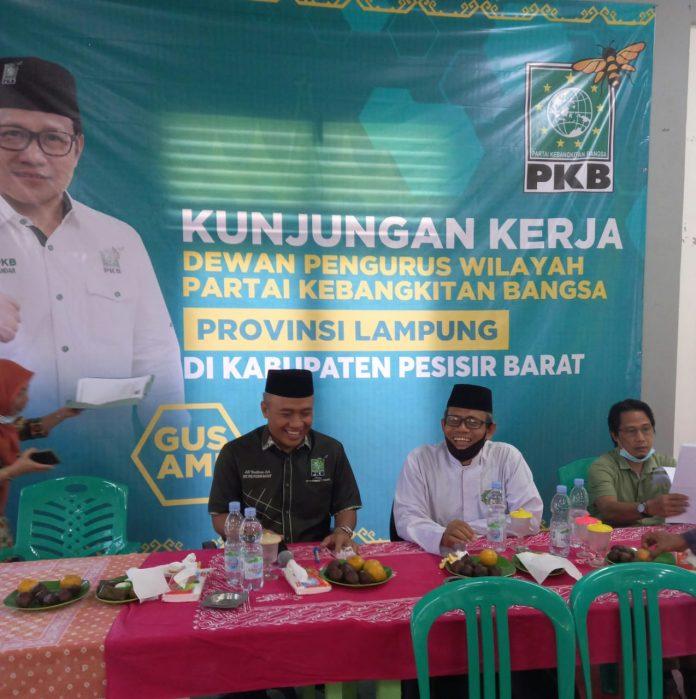 DPW Partai Kebangkitan Bangsa (PKB) Lampung Berkunjung ke Pesisir barat