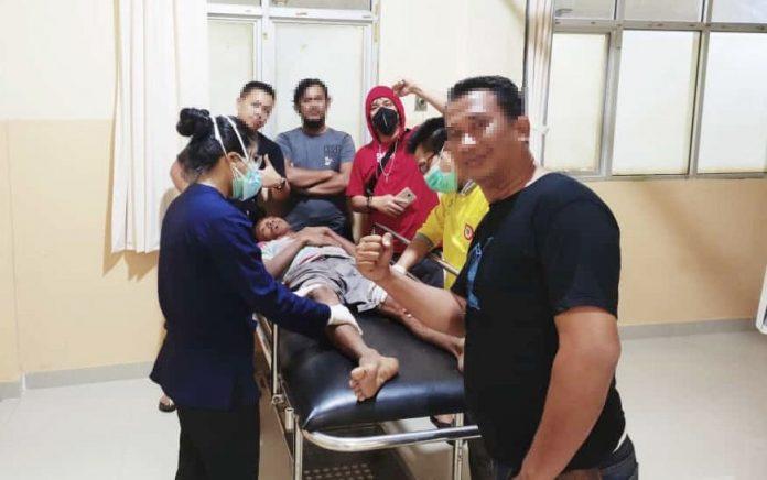 Tekab 308 Polres Tulang Bawang Tangkap Buronan Curanmor Yang Merupakan Residivis
