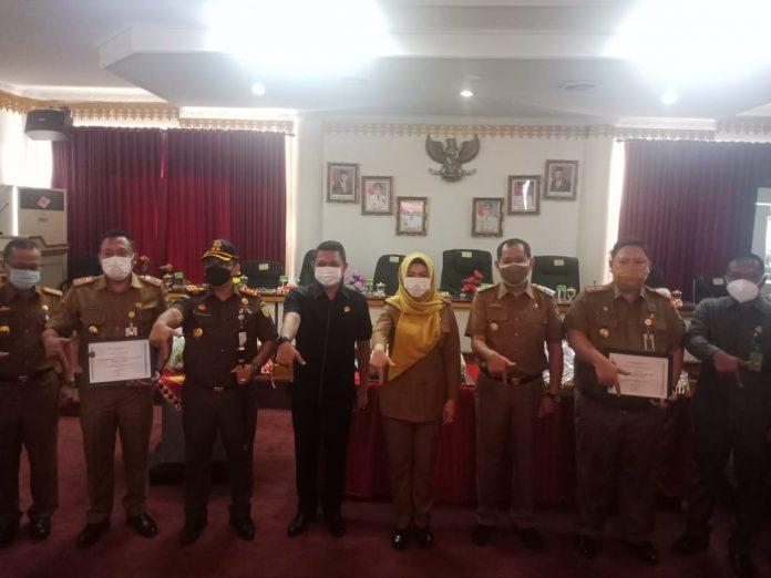 Pemkab Tanggamus Peringati HUT k 24 Kabupaten Tanggamus secara Sederhana