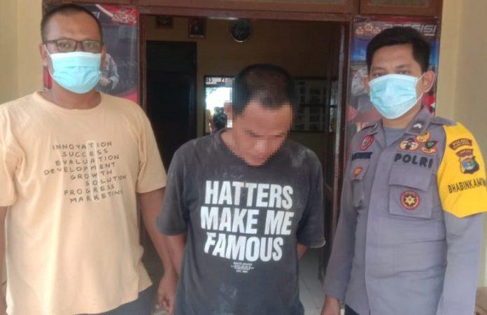 Jadi Pelaku Curanmor di Kampung Sendiri, Residivis Narkotika Ditangkap Polsek Rawa Jitu Selatan