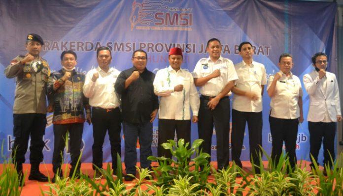 Wagub Jabar Ajak SMSI Sukseskan Pembangunan Di Jawa Barat