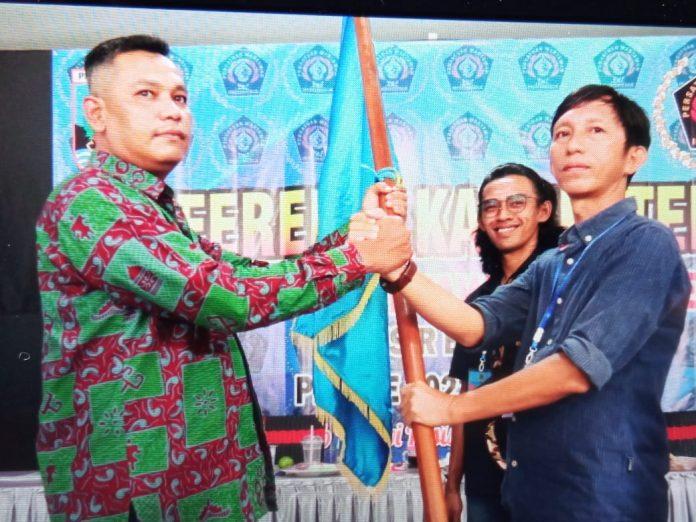 Aklamasi, Agustiawan Kembali Jabat Ketua PWI Pesbar