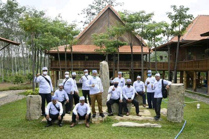 Bupati Tubaba Membuka Acara Field Trip Kepalo Tiyuh Serta Musrenbang Kecamatan Gunung Agung dan Way Kenanga