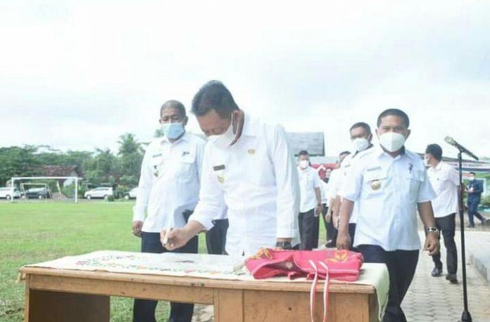 Wakil Bupati Tubaba Fauzi Hasan, SE, MM, Membuka Rapat Koordinasi (RAKOR) Ini Harapannya