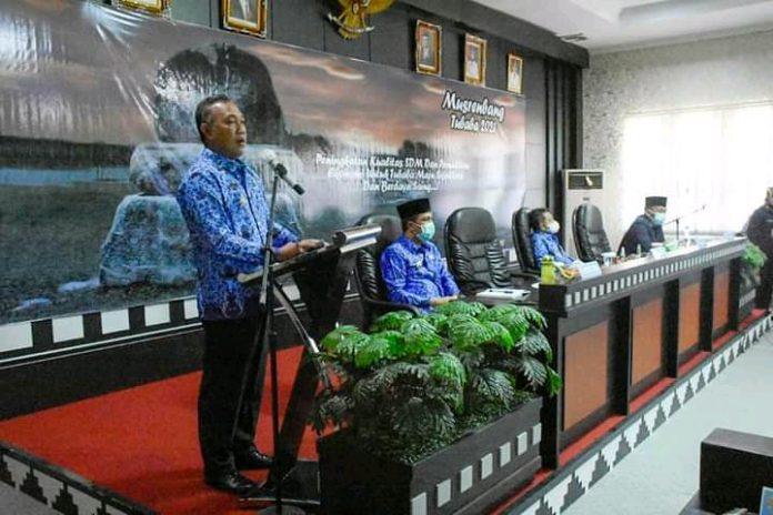Pemerintah Tubaba Musrenbang Tahun 2021 Penyusunan RKPD Tahun 2022