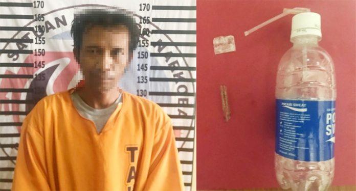 Rumah di Dusun Karawang Baru Digerebek Satresnarkoba Polres Tulang Bawang