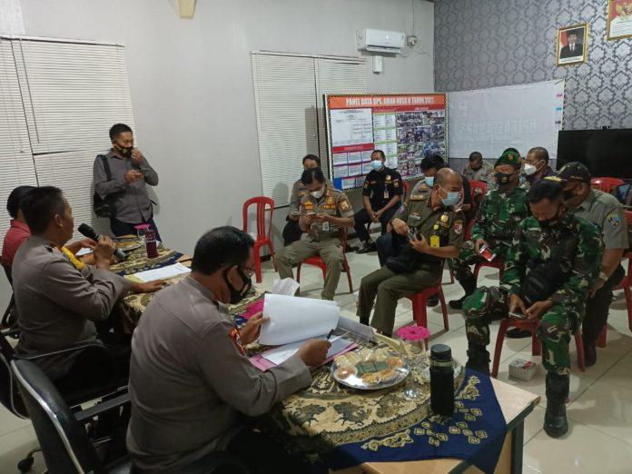Rapat Koordinasi Pengamanan Gereja Dalam Rangka Hari Paskah di Polres Tulang Bawang Barat