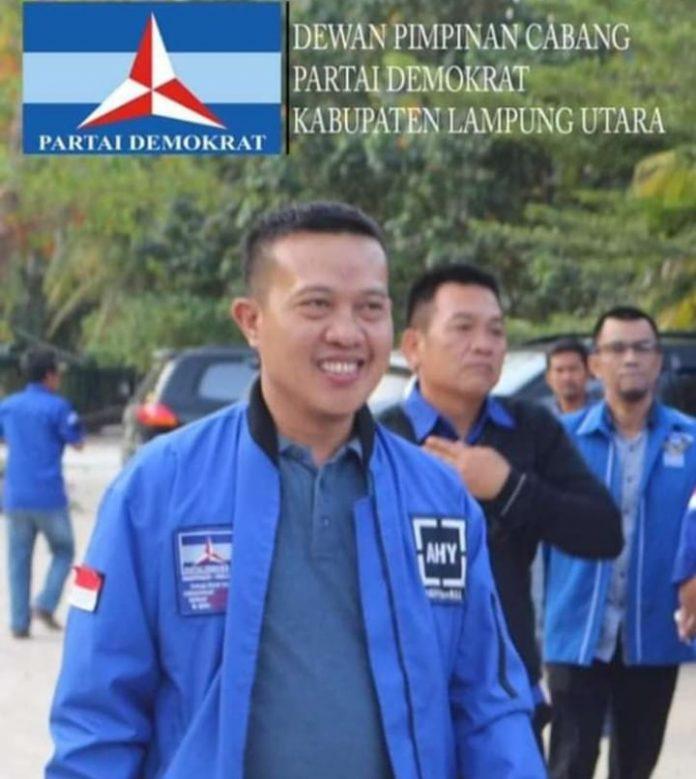 Sanggat Kecewa Ketua Fraksi Dpc,Partai Demokrat M.yusrizal Ketidak Hadirnya Bupati Lampura H.budi Otomo