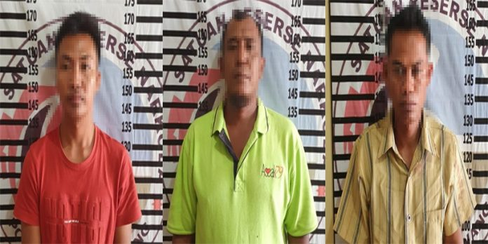 Polisi Gerebek Warung Lapo Tuak di Kampung Kagungan Rahayu