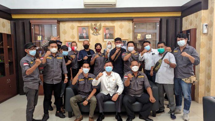 Serikat Media Siber Indonesia (SMSI) Kota Metro Menggelar Audiensi dengan DPRD