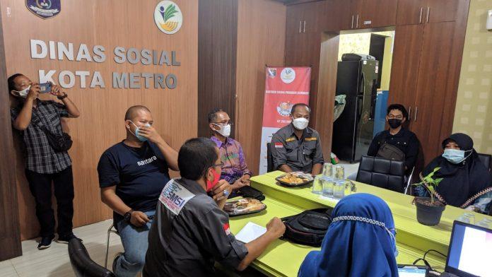 Dinsos Lega Setelah Dapat Edukasi Jurnalistik Oleh SMSI Metro