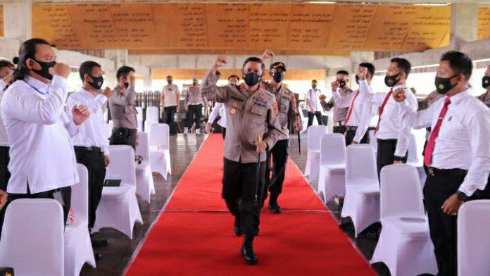 Kapolda Lampung Berkunjung Kemapolres Tubaba,