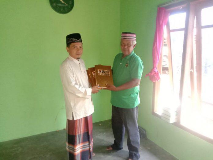 Menyambut Bulan Suci Ramadhan 1442 H,Partai PPP Lampura Bagi Al Qur'an dan Fadilah amal ke Masjid