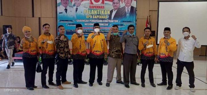 Resmi di Lantik, Muhammad Sidik Pimpin DPD Gapeknas Lampung Tengah