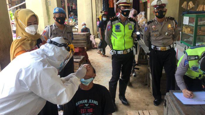 Satlantas Polres Tulang Bawang Gelar Operasi Keselamatan Krakatau-2021 di Menggala, Berikut Kegiatannya