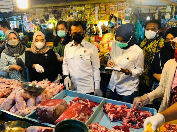 Polda Kepri Pantau Harga Dan Kesediaan Sembako di Kota Batam