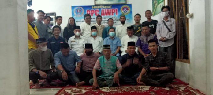 Calon Ketua dan Anggota AWPI Lamtim Buka Bersama di Calon Seketariat DPC AWPI