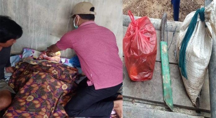 Polsek Gedung Aji Identifikasi Penemuan Mayat di Pinggir Sungai Tulang Bawang