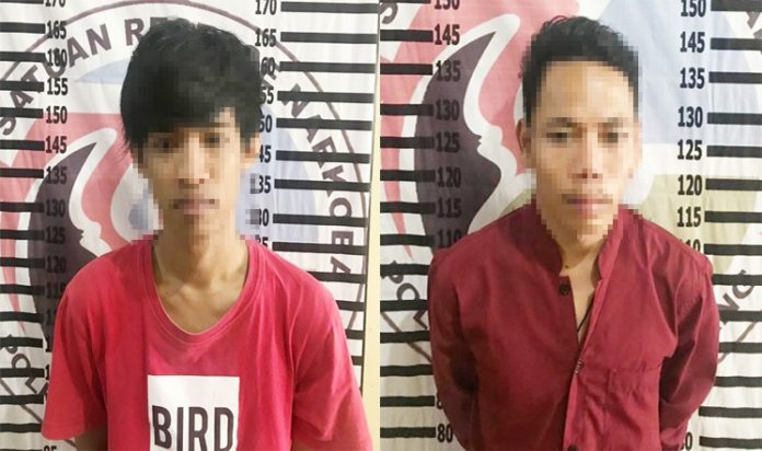Bawa Narkotika di Kampung Bugis, Dua Pemuda Ditangkap Polres Tulang Bawang