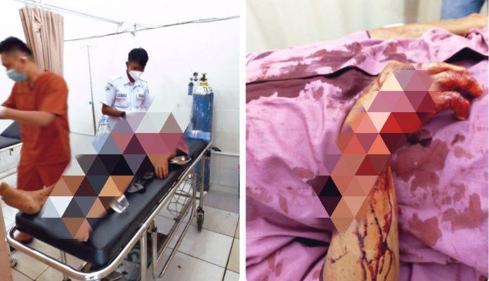 Cekcok Mulut Berujung Maut di Pekon Umbul Buah Kec.Kota Agung Kabupaten Tanggamus