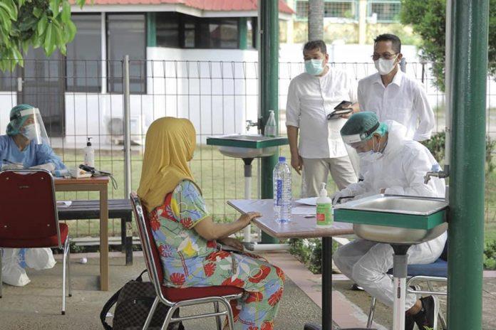 28 Pasien Covid OTG Di Nyatakan Sembuh Karantina Asrama Haji