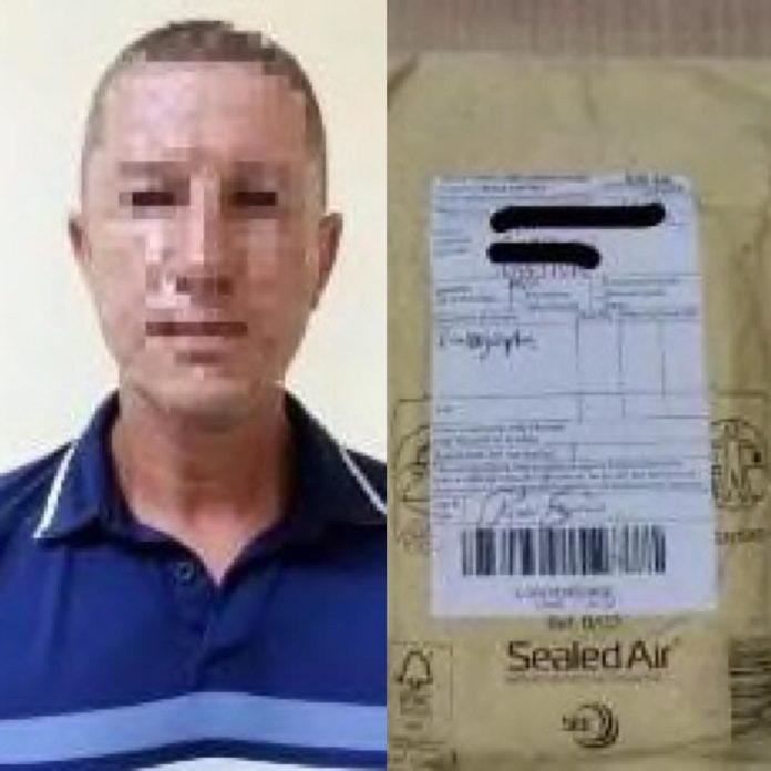 Seorang Pria WNA Penyelundupan Kokain Di Tangkap Bea Cukai Batam