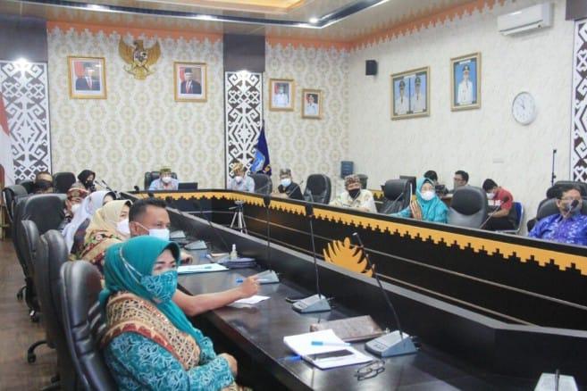 Pemerintah Kota Metro bersama Gugus Tugas Penanganan Covid-19 Mengadakan Rapat Evaluasi penanganan Covid-19