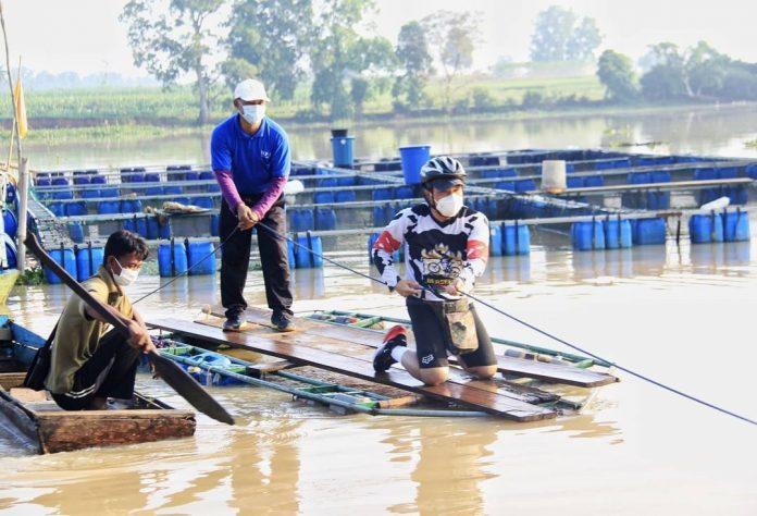 Nelayan Keramba Jaring Apung Nila Berharap Ke Walikota Metro Wahdi, Jalan Menuju Capit Urang Di Onderlagh