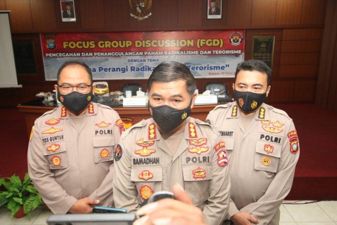 Polresta Barelang Gelar Focus Group Discussion Pencegahan Dan Penanggulangan Paham Radikalisme Dan Terorisme