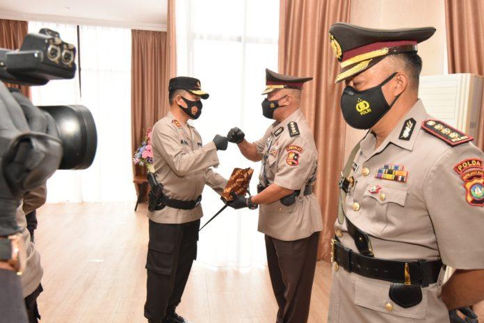Serah Terima Jabatan Pejabat Utama Polda Kepri