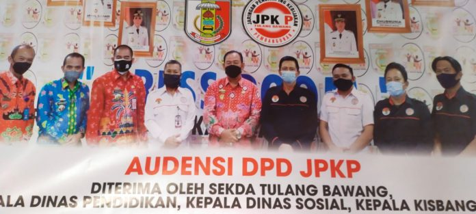Ketua DPD -JPKP Tuba Mengadakan Audensi bersama Bupati Tuba Dr.Hj.winarti SE.MH Disambut Baik sekda kab-Tuba Ir.Anthoni MM
