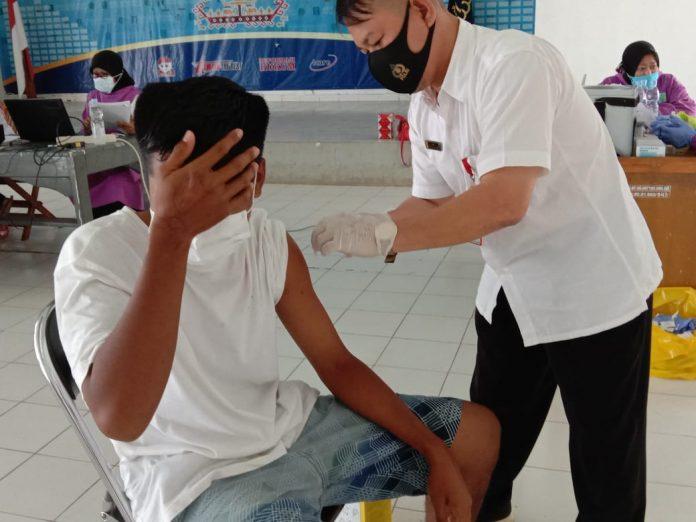 Rutan Kelas IIB Kota Bumi Melaksanakan Kegiatan Vaksinasi Covid - 19 Terhadap 200 WBP