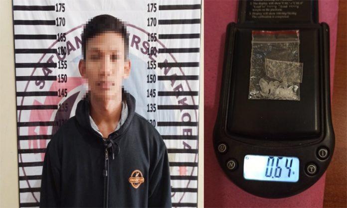 Nyambi Edarkan Narkotika, Petani di Rawa Pitu Ditangkap Polres Tulang Bawang