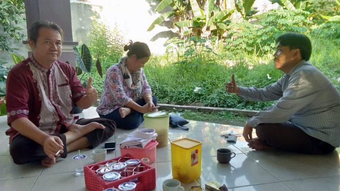 Ketua DPD FW-PRO-1 Tanggamus Dan Jajaran Berkunjung Ke Rumah Kediaman Ketua DPW-JPKP Provinsi Lampung
