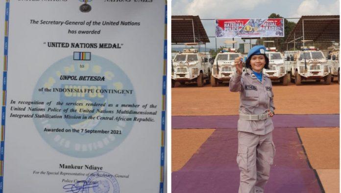 Profil Lengkap Briptu Betesda Sidabutar Anggota Polres Tubaba Yang Ditugaskan Dalam Misi Perdamaian Dunia Dibawah Organisasi PBB