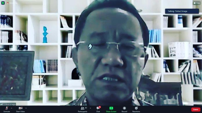 Tingkatkan Penanganan Yankomas, Kanwil Lampung Ikuti Sosialisasi Rancangan Perubahan Permenkumham Nomor 32 Tahun 2016