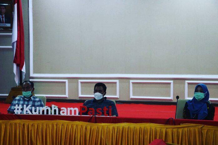 Kanwil Lampung Ikuti Rapat Persamaan Persepsi Terkait Penyusunan SKP dan Penilaian Kinerja Berdasarkan PermenPAN RB No. 8 Tahun 2021