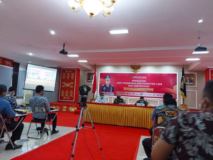 2 petugas Rutan Kota Agung ikuti penguatan Pengendalian Pungli dan Gratifikasi