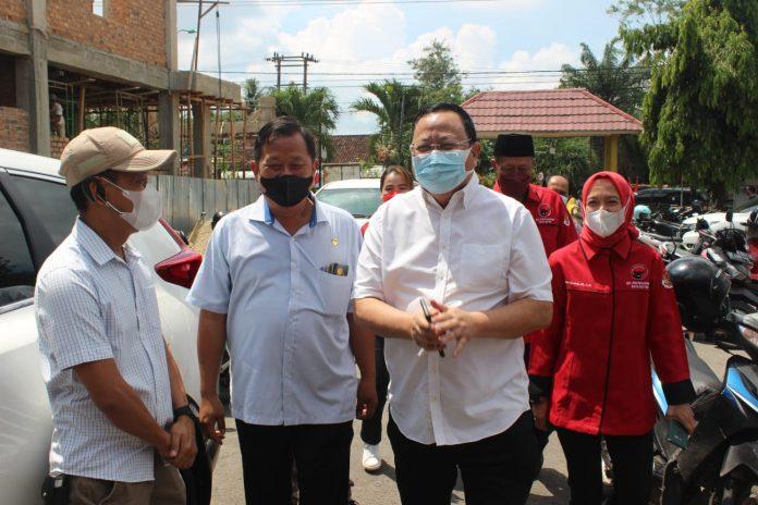 DPR RI Tinjau Pelaksanaan Vaksinasi Covid-19 di Metro