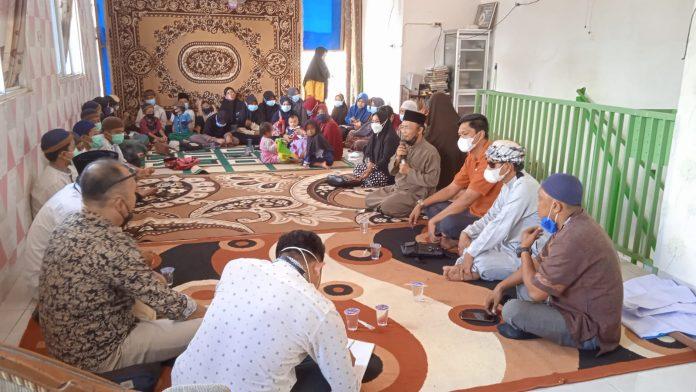 Keluarga Besar Persatuan Pewarta Warga Indonesia (PPWI) Kota Metro Berbagai di jum'at Berkah
