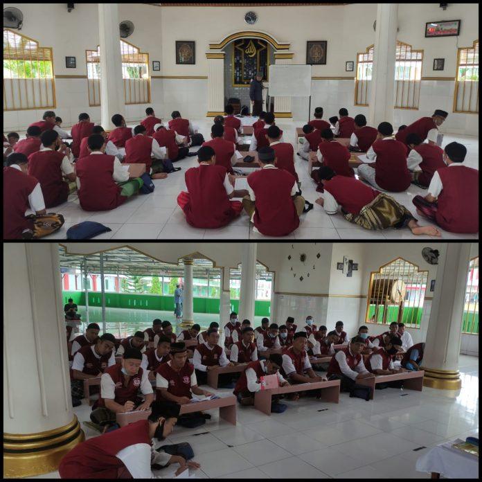 Rutan Kelas I Bandar Lampung Laksanakan Kegiatan Kerohanian Bagi Warga Binaan