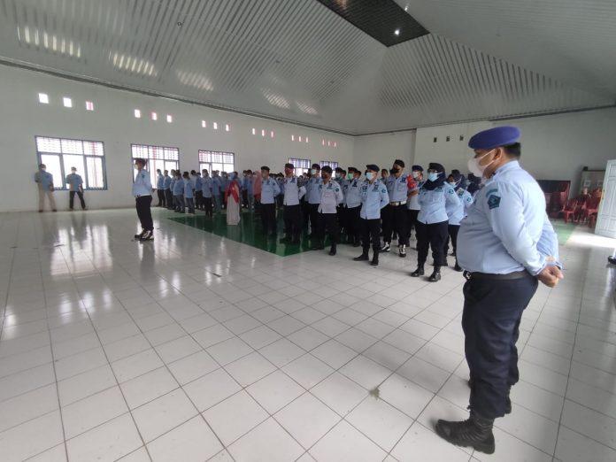 Rumah Tahanan Negara Kelas IIB Kotabumi melaksanakan Komitmen Bebas HALINAR.
